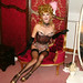Belinda corset on chaise corte by Tanya Dawn Hughes