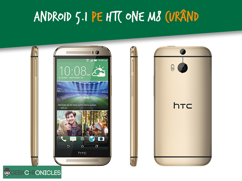 android 5.1 htc one m8