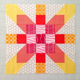 Humility Circle April Bee Block for do.Good Stitches