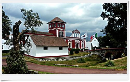 Hacienda Panoaya, convento en el que estudío la poetisa Sor Juana Inés de la Cruz..P1120426EP