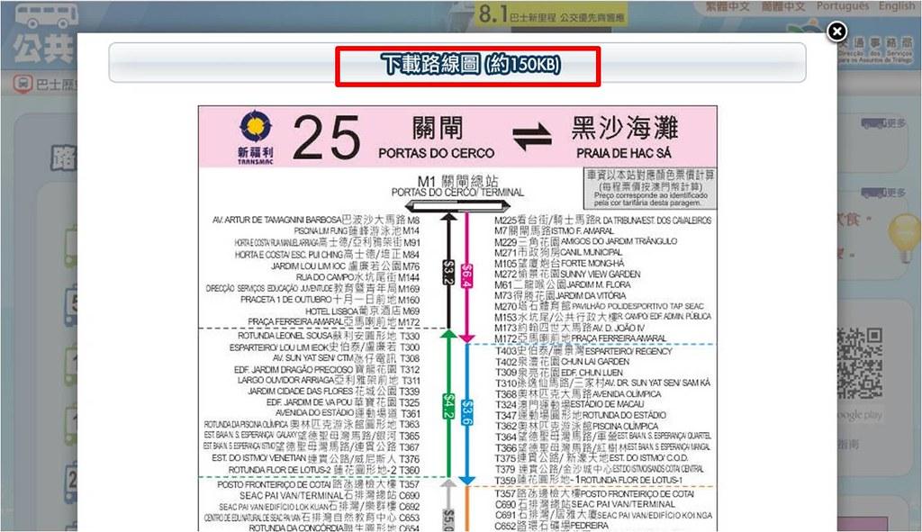 25號路線圖