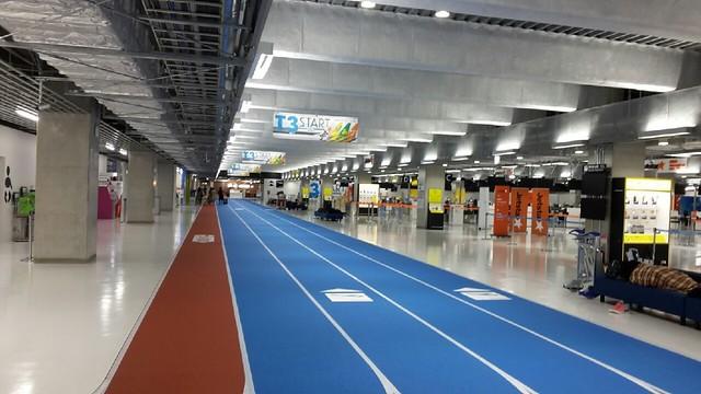 成田機場第三航廈入口走道 (一)