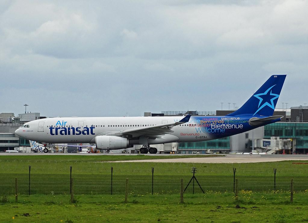 C-GTSJ - A332 - Air Transat