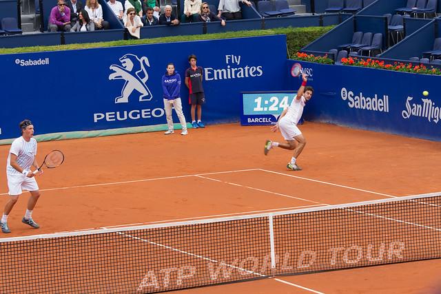 Final de dobles en Barcelona Open Banc Sabadell