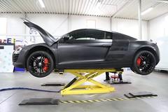 Audi R8 Satin Black