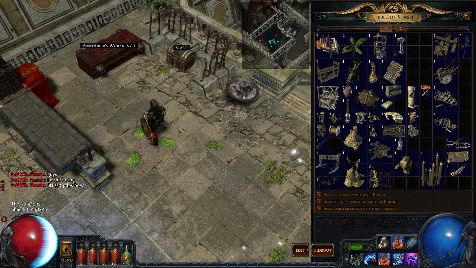 forum bug reports lost my craft bench path of exile