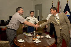RDECOM Leaders meet Chilean Visitors