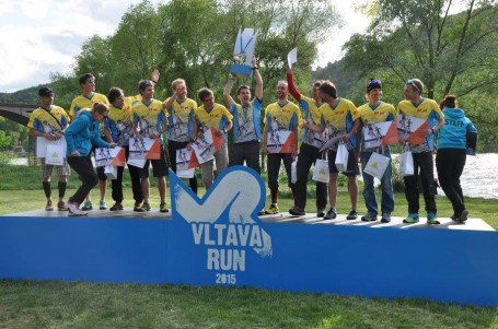 HSH Suunto Service Point vítězem štafetového ultra podél Vltavy