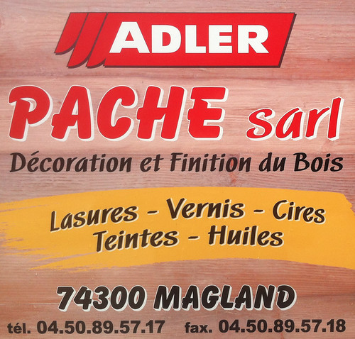 Logo voiture PACHE