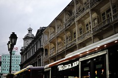 The old streetscape of Macau