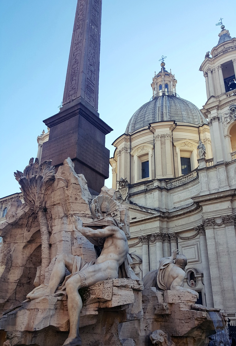 Piazza Navona fountains