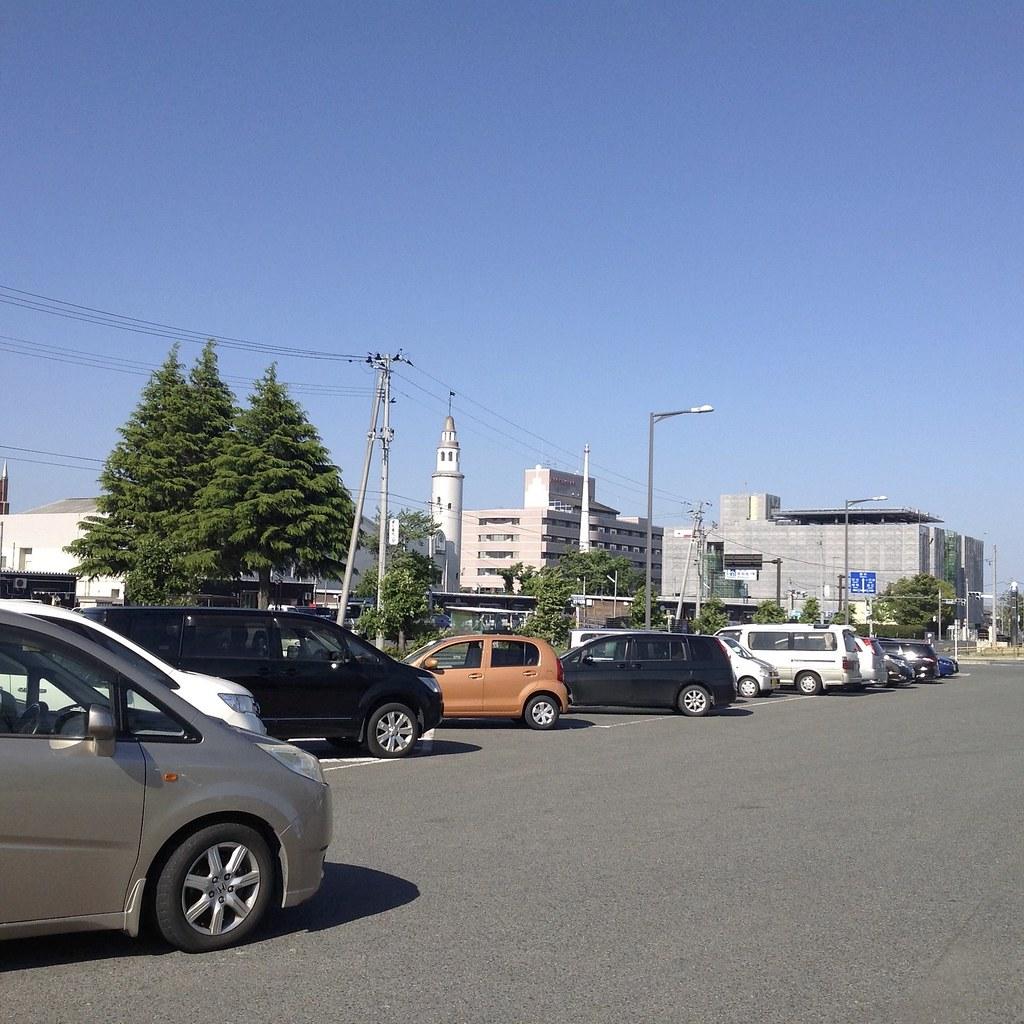 しり撮り写真 005 「駐車場」(山田さん)