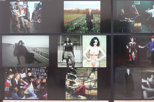 Women New Portraits by Annie Leibovitz video screen