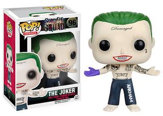 FUNKO POP! HEROES 系列【自殺突擊隊】Suicide Squad 小丑先生,你造型也太多了吧?!