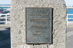 WAR MEMORIAL - ANCHOR OF THE RMS LEINSTER PLUS MEMORIAL PLAQUES [DUN LAOGHAIRE]-116956