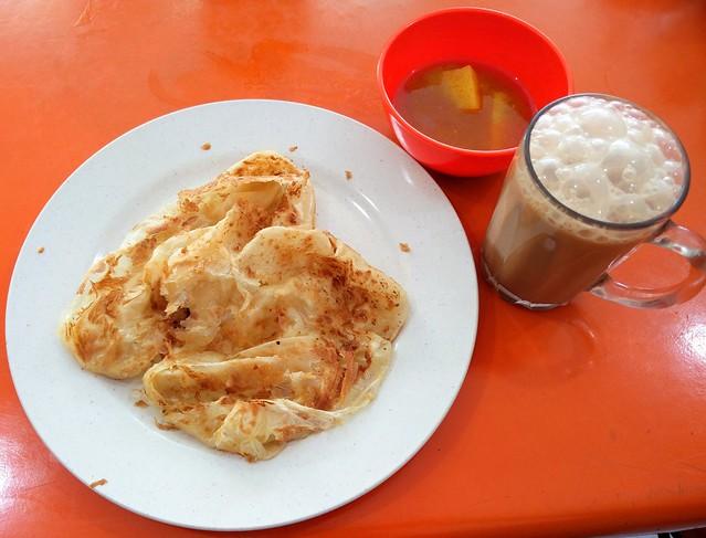 Roti Canai With Teh Tarik