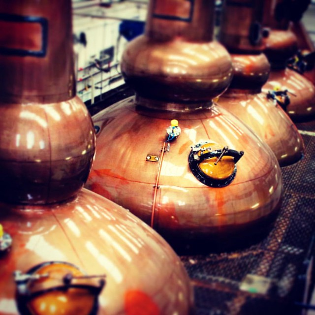 Inside the Still House at Mortlach Distillery. #LoveScotch #Mortlach #scotch #whisky #Speyside #truespirit