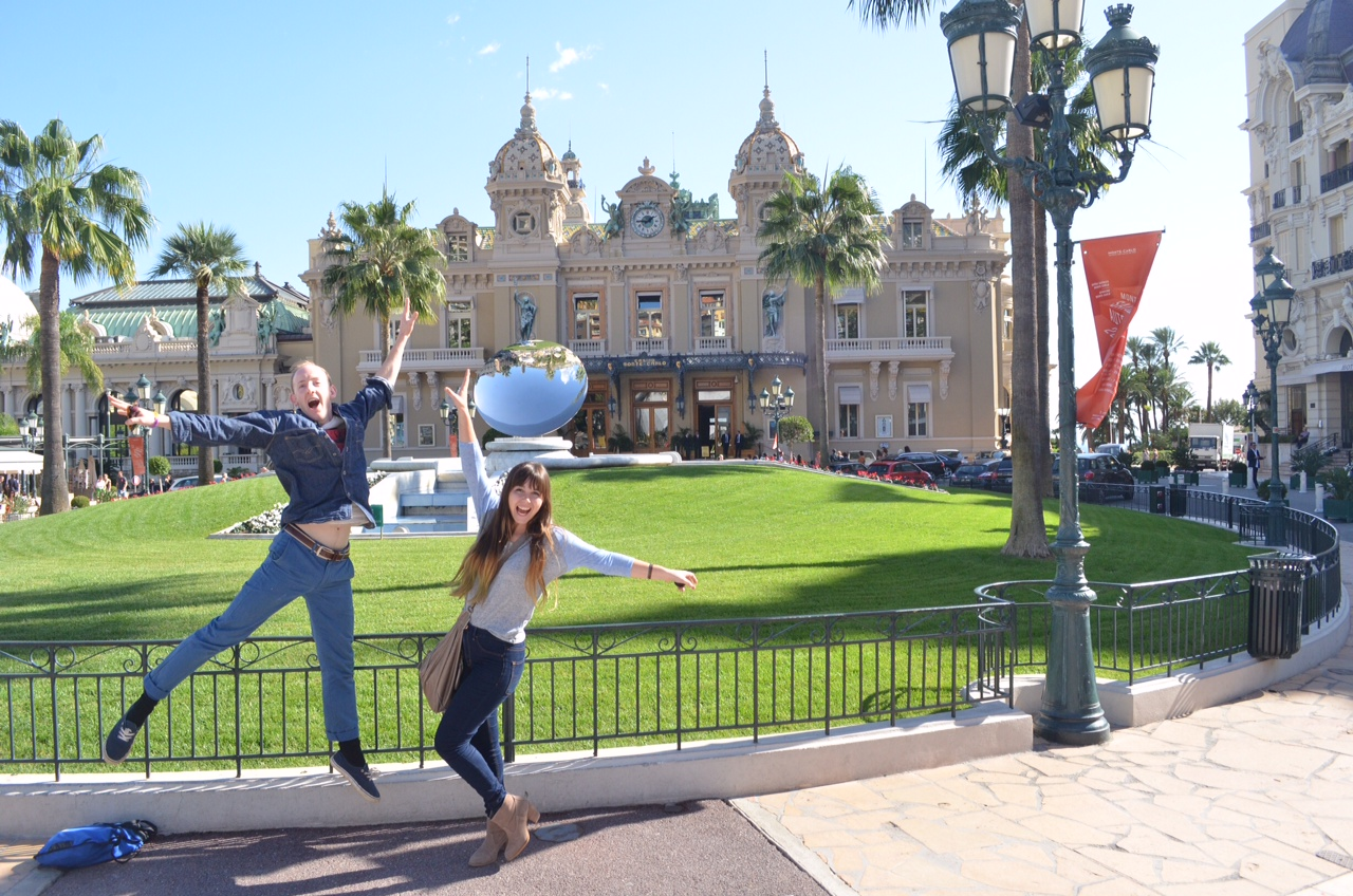 3 Madison Meyer & fellow Workaway volunteer in Monaco