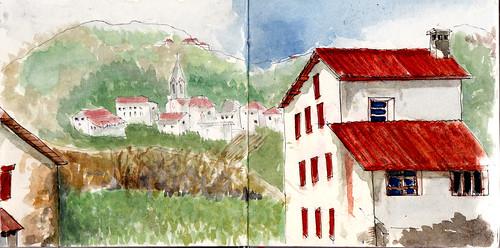 Saint-Jean Pied de Port/Donibane Garazi-Valcarlos-Roncesvalles/Orreaga ( etapa 1 )