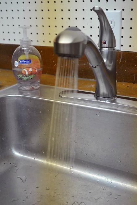 Spray Shelton Kitchen Faucet