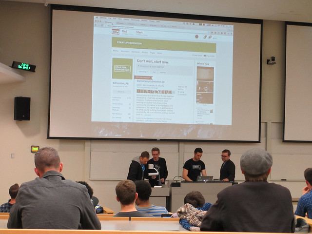 DemoCamp Edmonton 28