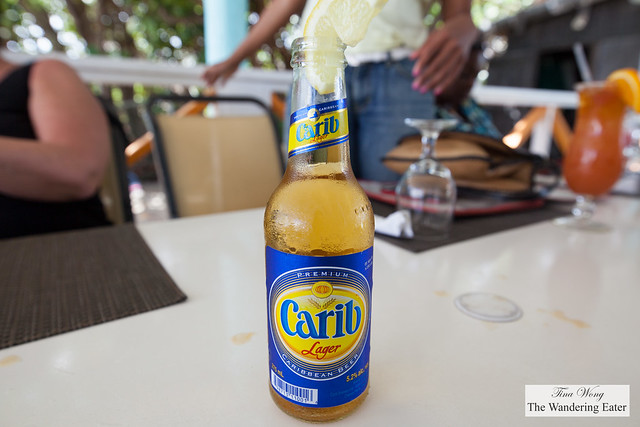 Carib Lager beer