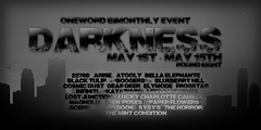 Oneword May 2015 Darkness Poster