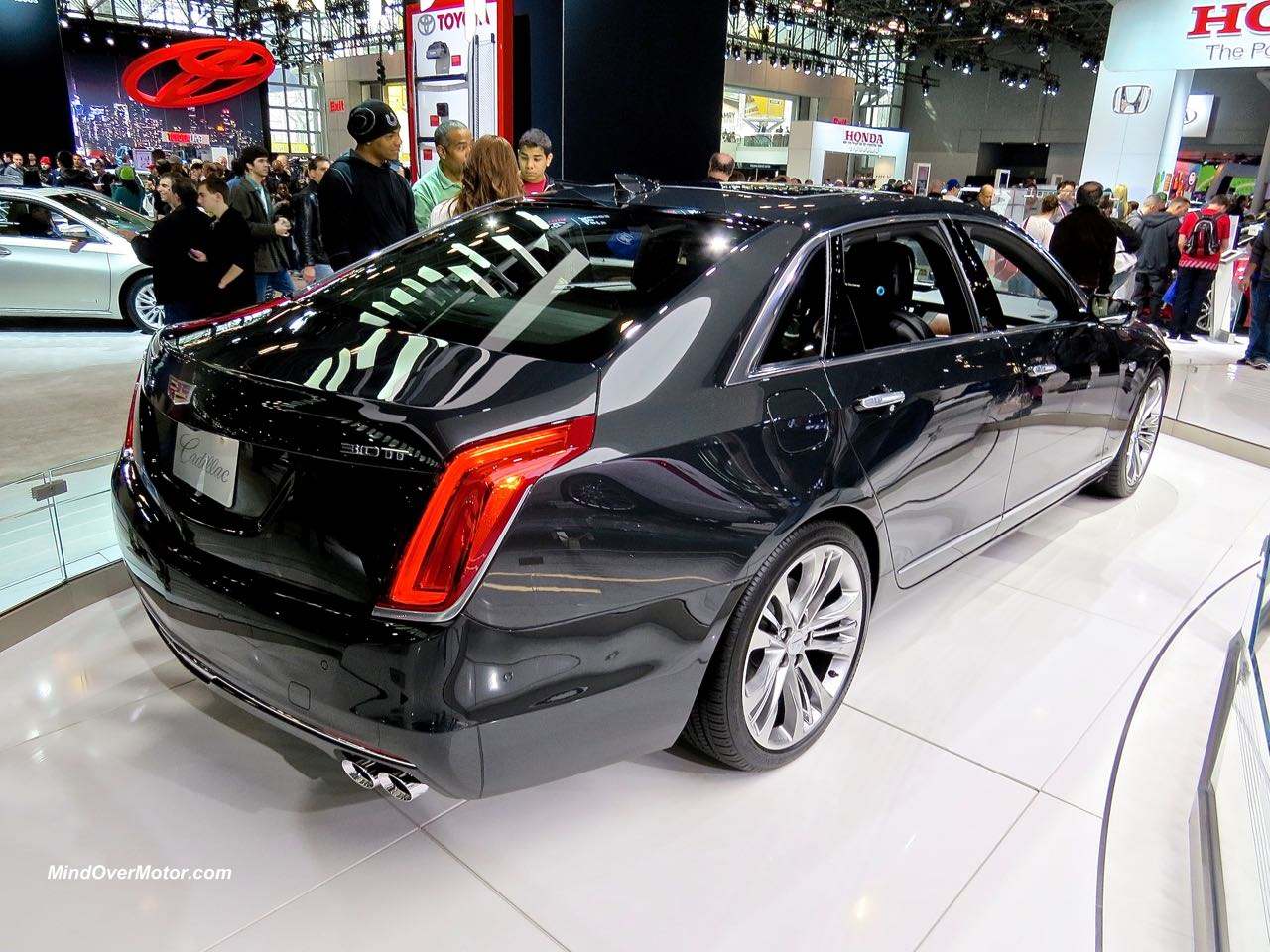 Cadillac CT6 Rear Black