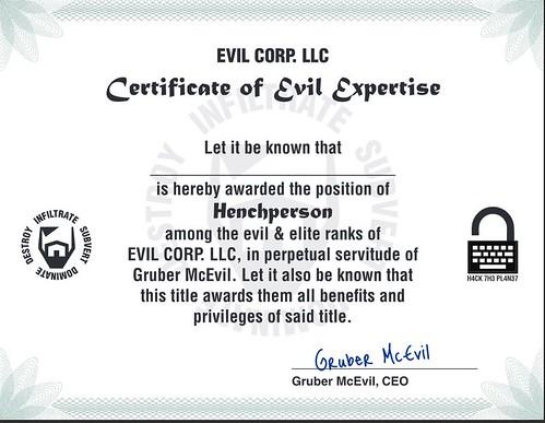 Loot Crate Evil