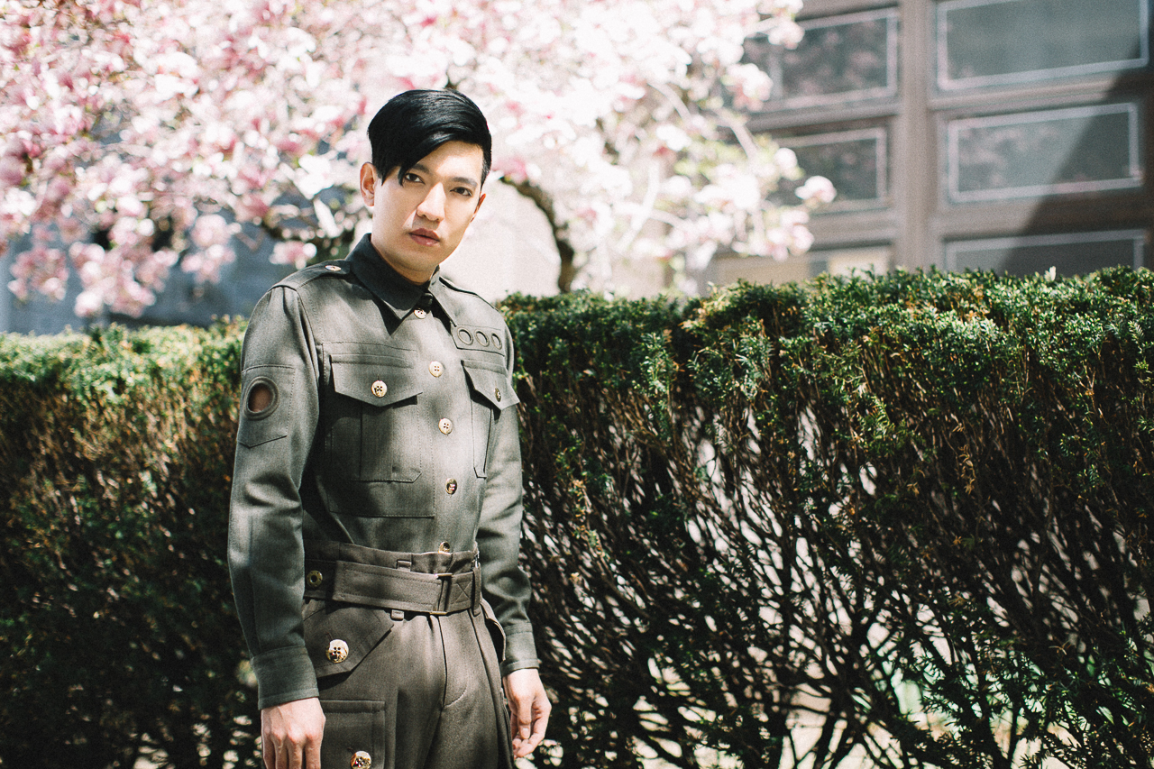Bryanboy in Marc Jacobs spring summer 2015