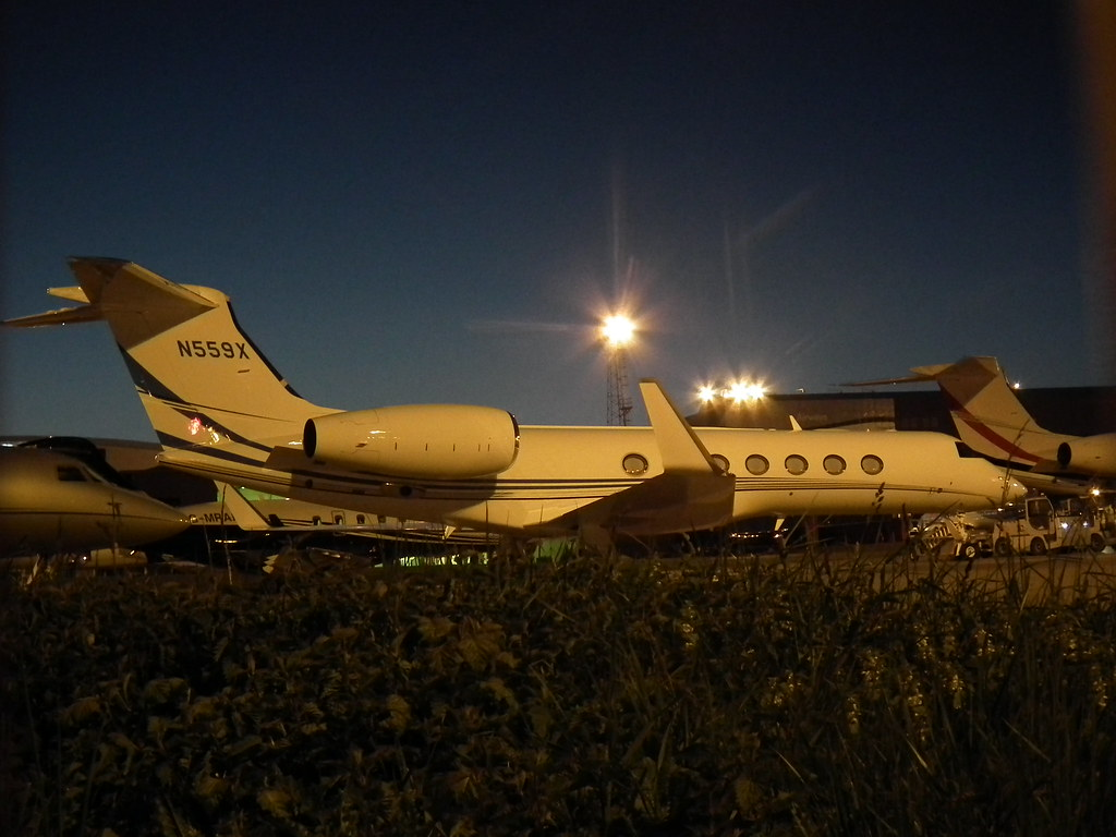 N559X - GLF5 - Kyrgyz International Airlines