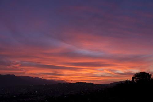sky sunrise landscape venezuela sony paisaje caracas amanecer cielo f3 nex sonynexf3