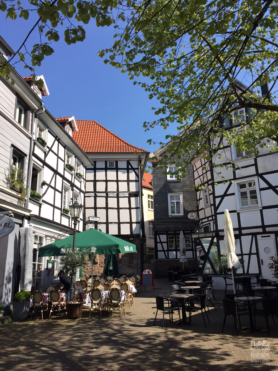 Spring in Hattingen