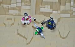 Robot rescue.