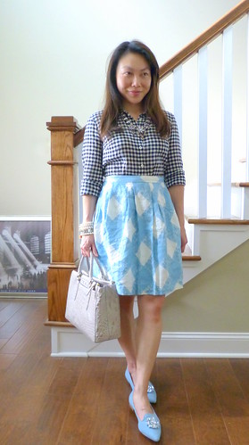 gingham lily + libry