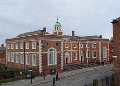 Photo of Bluecoat Hospital, Chester blue plaque