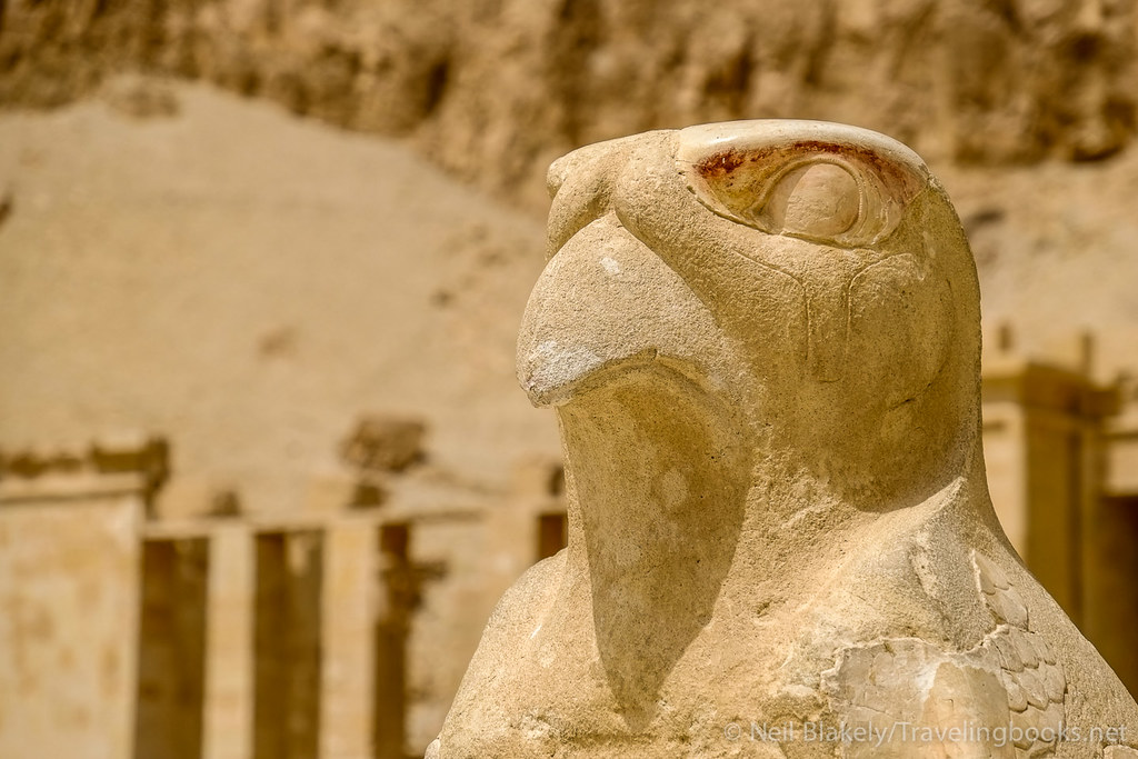 Horus at Hatshepsut Temple