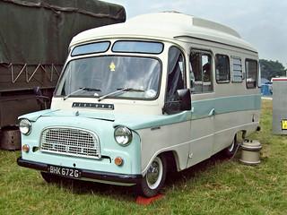 398 Bedford CA Dormobile Debonair (1968)