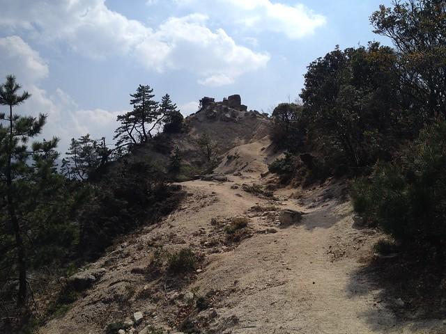県境稜線縦走路 羽鳥峰