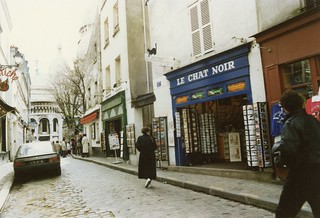 Rue du Chevalier de la Barre, Paris, March 1989