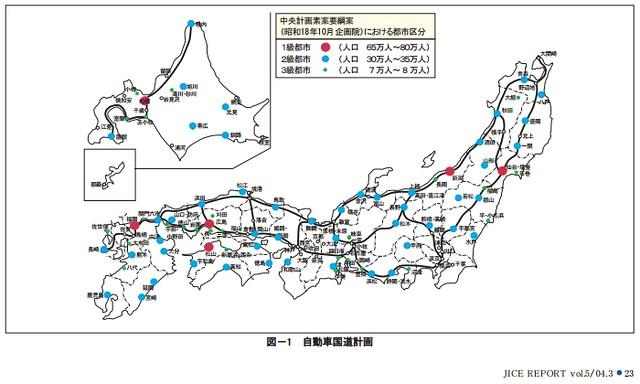 戦前の高速道路計画網