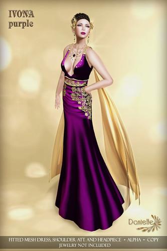 DANIELLE Ivona Purple