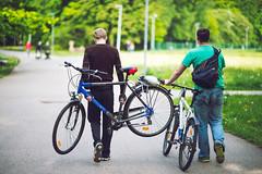 Bicycles | Ąžuolynas | Kaunas #142/365