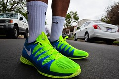 2014 Nike Volt Flyknit Lunar2