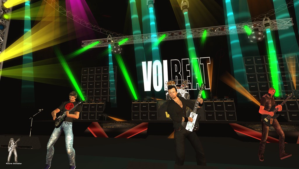 Volbeat Live @ ARBOC MC 7-May-2016 for TRC in Second Life | Flickr