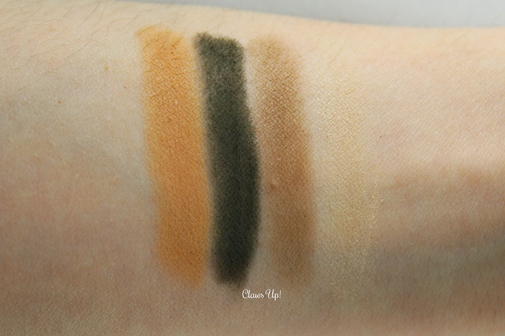 Kat Von D Shade + Light Eye Contour Quad swatches