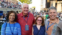 With My Parents Before The Dolly Parton Concert