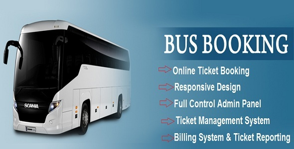 eBus – Online Bus Reservation & Ticket Booking System