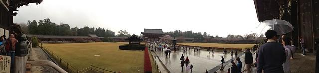 Todai-ji Temple panoramic