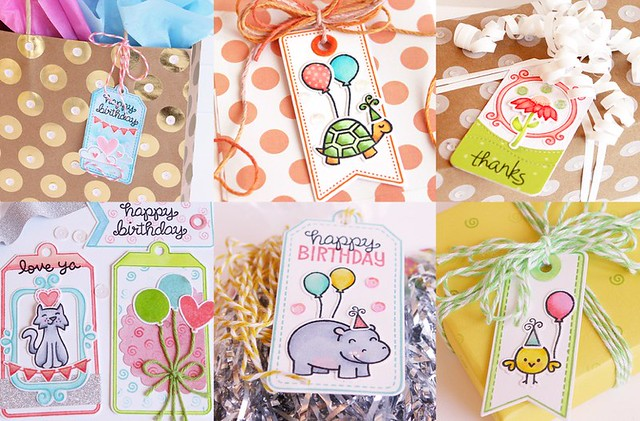 Gift Tag collage